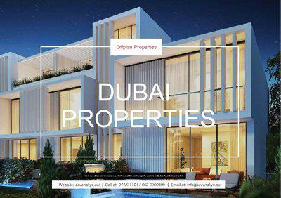 DUBAI PROPERTIES PROMOTIONAL DEAL