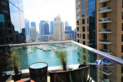 Apartment for Rent in Marina Promenade at Dubai Marina Dubai