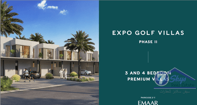 Villa House for Sale in EMAAR South at Dubai South (Dubai World Central) Dubai