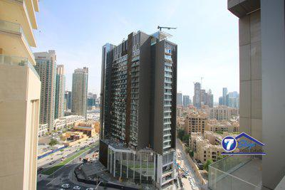Apartment for Rent in Boulevard Point at Downtown Dubai Dubai