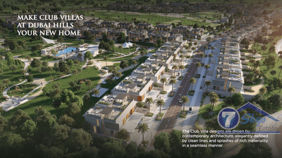 Villa House for Sale in Club Villas at Dubai Hills at Dubai Hills Estate Dubai