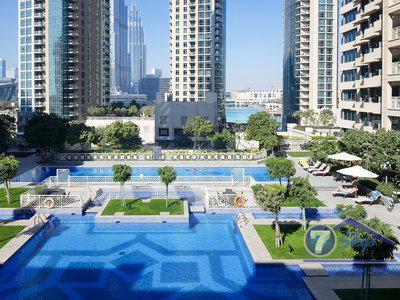 Apartment for Rent in 29 Burj Boulevard at Downtown Dubai Dubai
