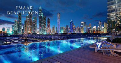 Apartment for Sale in EMAAR Beachfront at Dubai Harbour Dubai