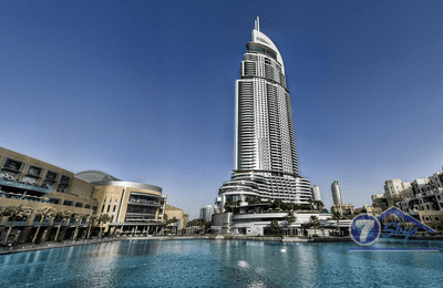 Apartment for Rent in The Address Downtown Hotel at Downtown Dubai Dubai