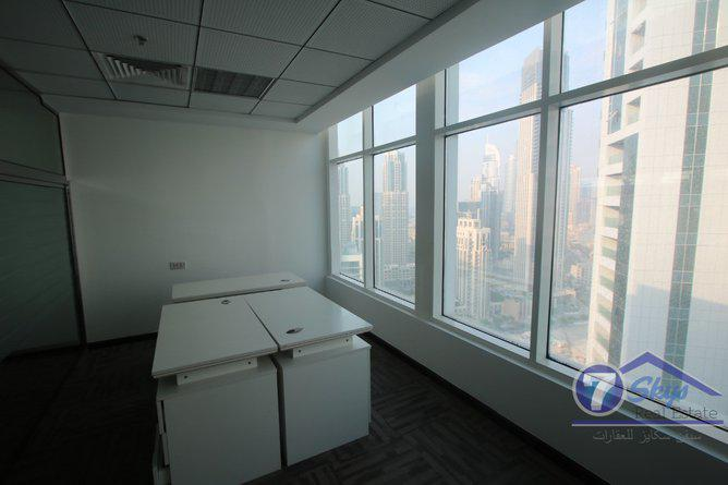 Office Space for Rent in Clover Bay Tower at Business Bay - Dubai