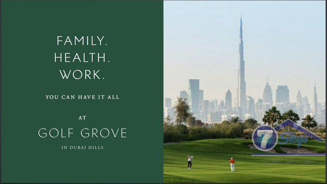 Villa House for Sale in Dubai Hills Grove at Dubai Hills Estate - Dubai
