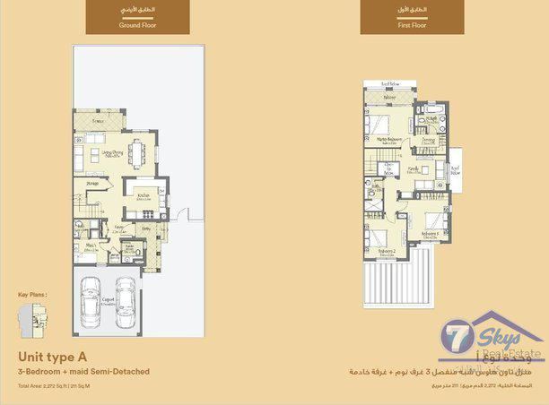 Villa House for Sale in Bella Casa at Serena - Dubai