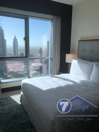 Apartment for Rent in The Address Downtown Hotel at Downtown Dubai - Dubai