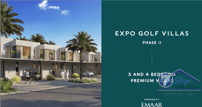Villa House for Sale in EMAAR South at Dubai South (Dubai World Central) - Dubai